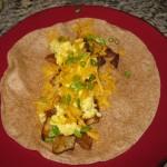 Recipe 1.5:  Breakfast Burritos