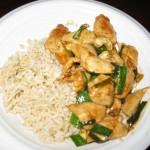Recipe 2.4:  Chicken Cashew Stir-Fry