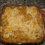 Recipe 4.4:  Summer Vegetable Casserole with Penne
