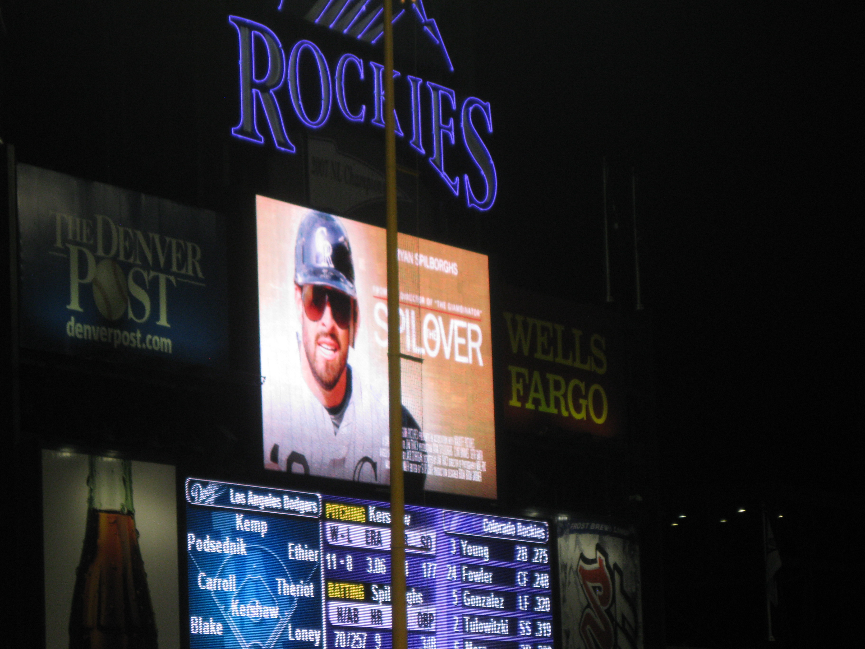 My Heart is at Coors Field