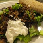 Recipe 10.2: Spicy Black Bean Cakes