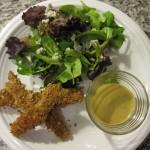 Recipe 14.2: Chicken Tender Salad with Honey Mustard