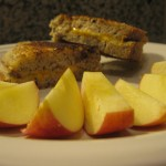 Recipe 15.1: Grilled Cheese Sandwiches with Apples and Salad with Bleu Cheese