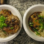 Recipe 15.3: Sweet and Spicy Glazed Chicken Thighs with Scallion Rice