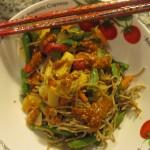 Recipe 22.1: Vegetable Peanut Noodles