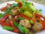 Recipe 27.3: Zucchini and Red Pepper Stir-Fry