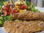 Recipe 27.2: Chicken Fingers with Loaded Salad