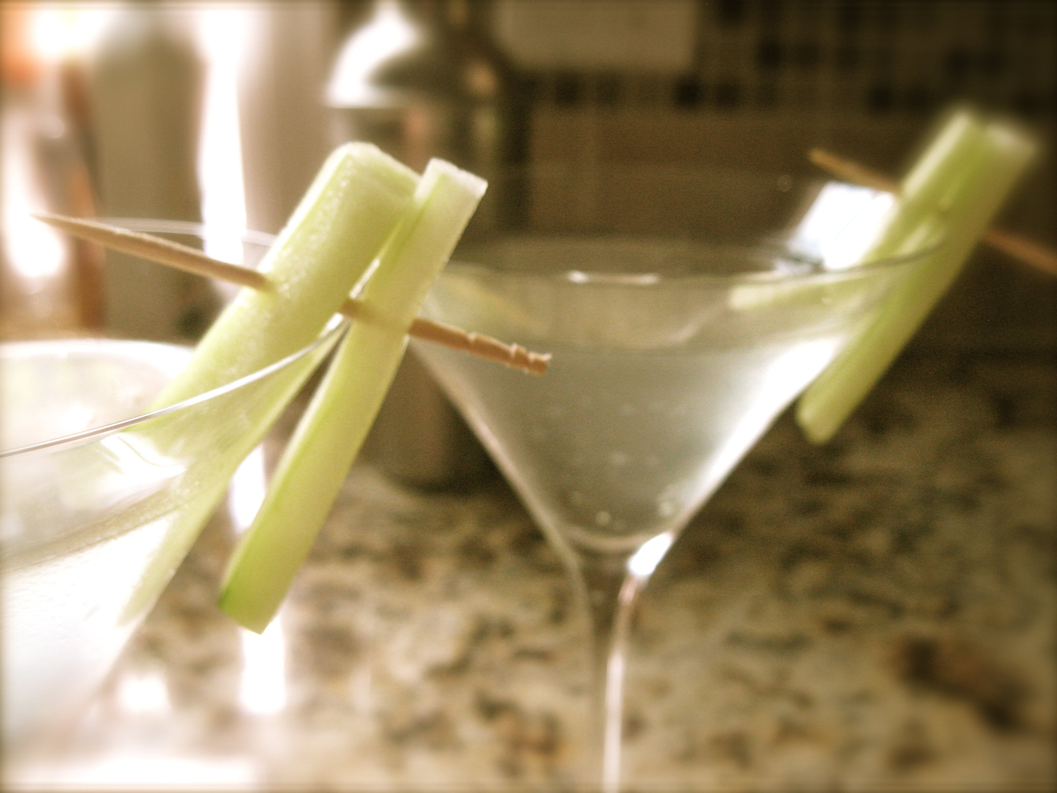 The Perfect Cucumber Martini