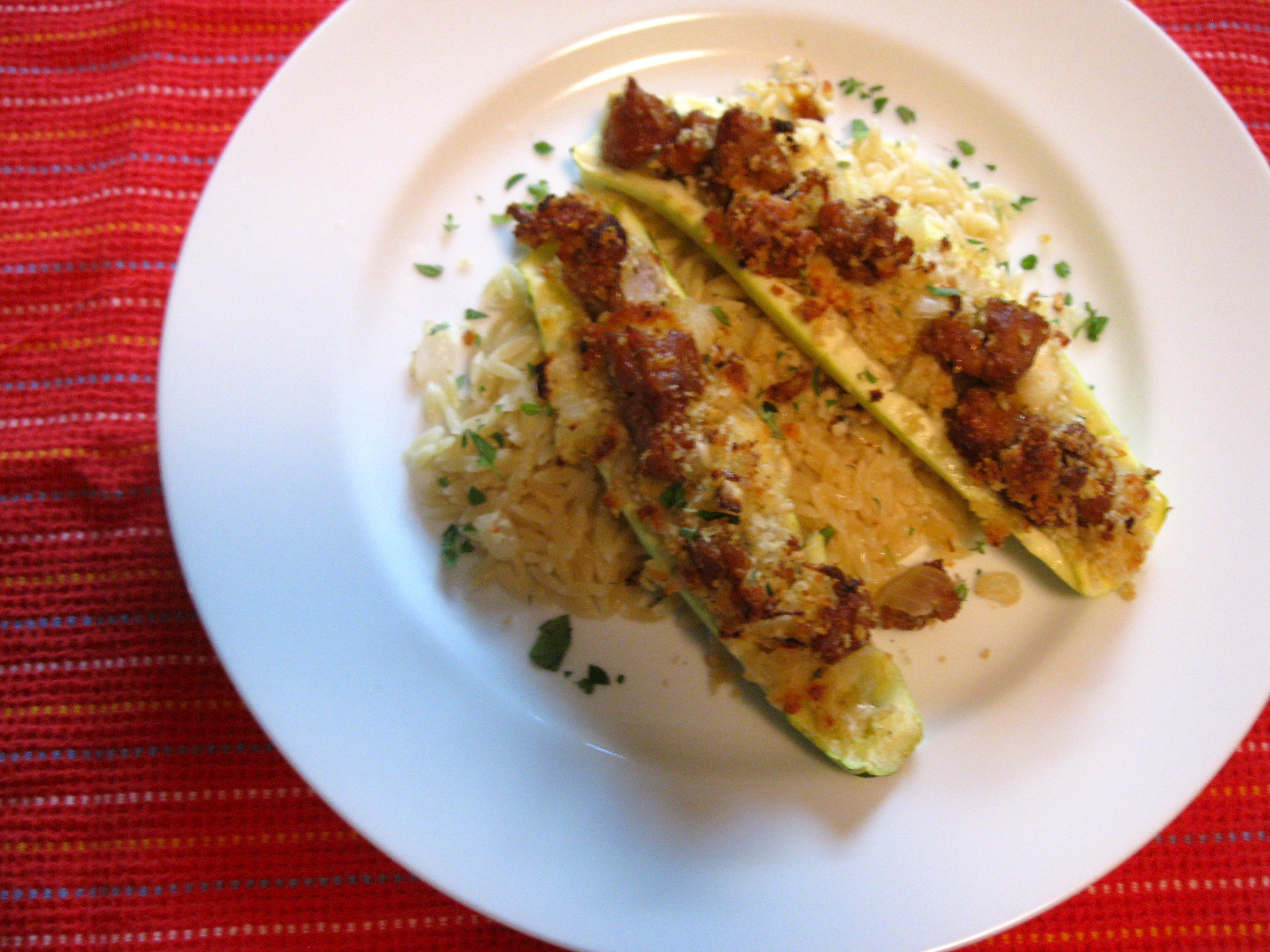 Primo Stuffed Zucchini