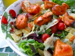 A Case of the Present Participles (And Grilled Buffalo Chicken Salad)