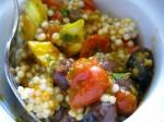 Mediterranean Couscous (aka Delicious Couscous Surprise)