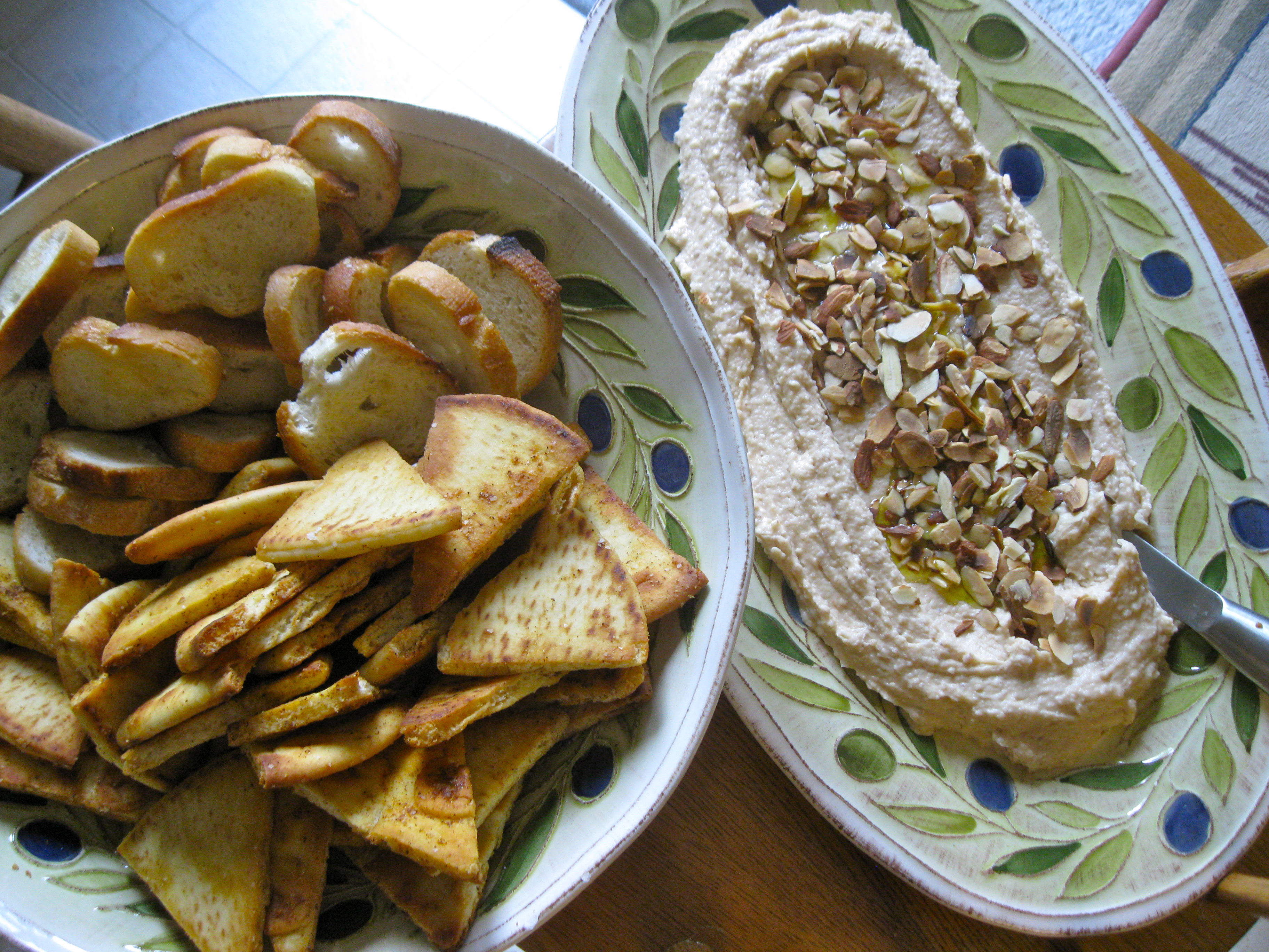 White Bean Dip with Toasted Almonds