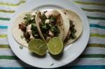 Steak, Cilantro, and Caramelized Onion Street Tacos